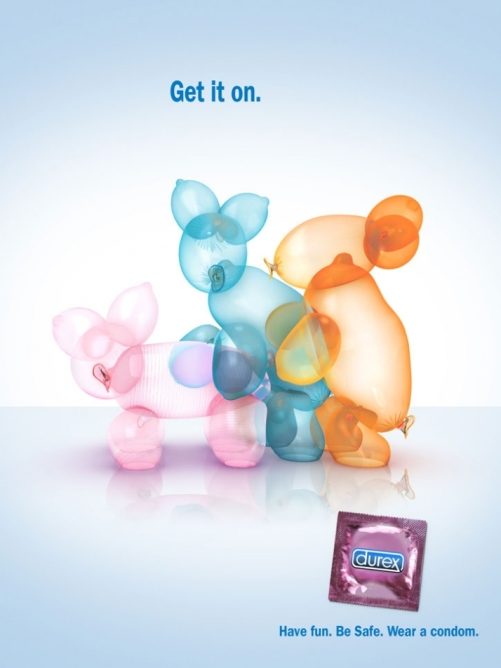 Durex balloons