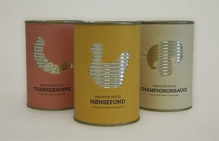 Posh tinned food