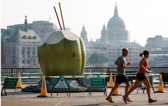Vita Coco's recent marketing stunt in London.
