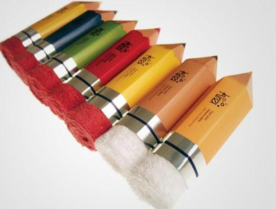 Towel pencils